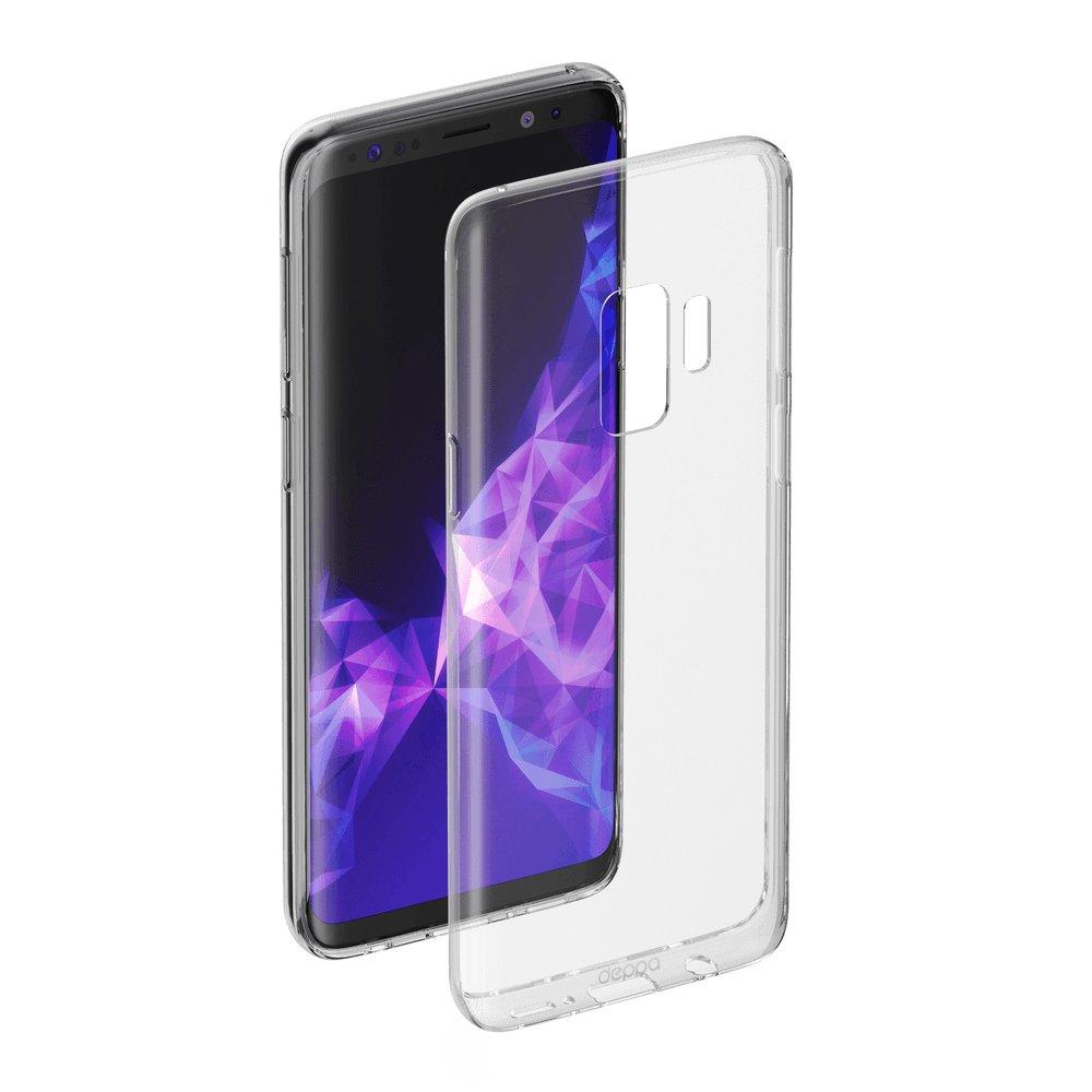 Чехол Deppa Gel Case для Samsung Galaxy S9, прозрачный цена 2017
