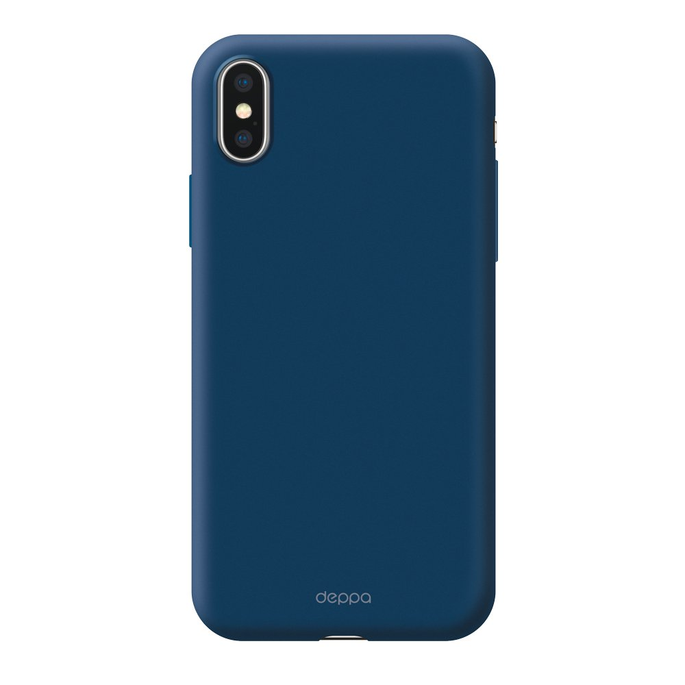 Чехол Deppa Air Case для Apple iPhone X/XS, синий