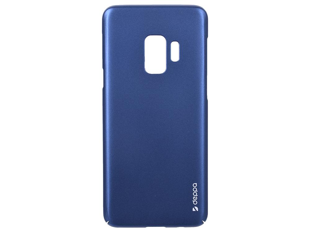 цена на Чехол Deppa Air Case для Samsung Galaxy S9, синий