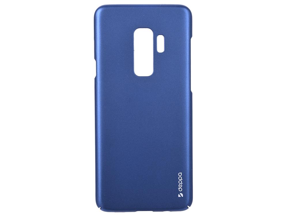 Чехол Deppa Air Case для Samsung Galaxy S9+, синий чехол для сотового телефона celly air case для samsung galaxy a5 2017 air645bkcp черный