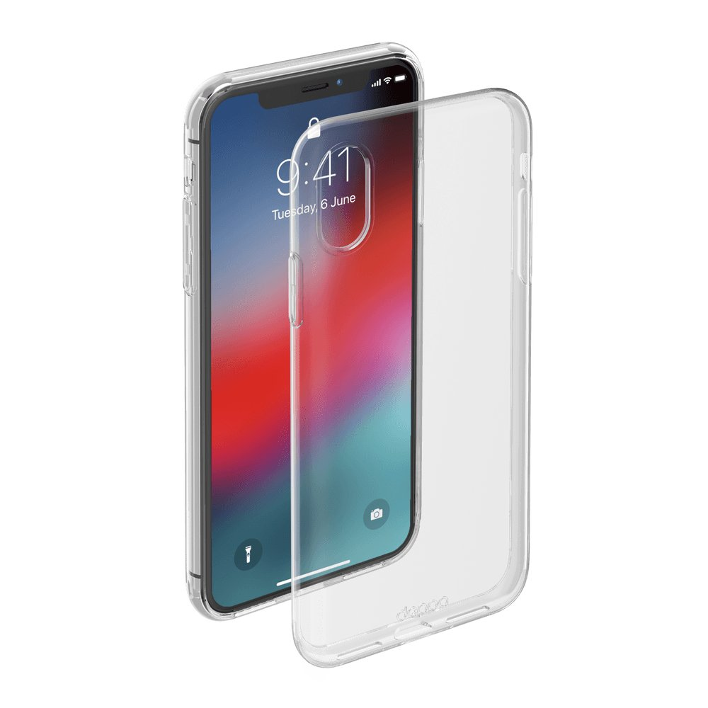 Чехол Deppa Gel Case для Apple iPhone XR, прозрачный чехол клип кейс deppa glass case для apple iphone xr золотистый [86511]