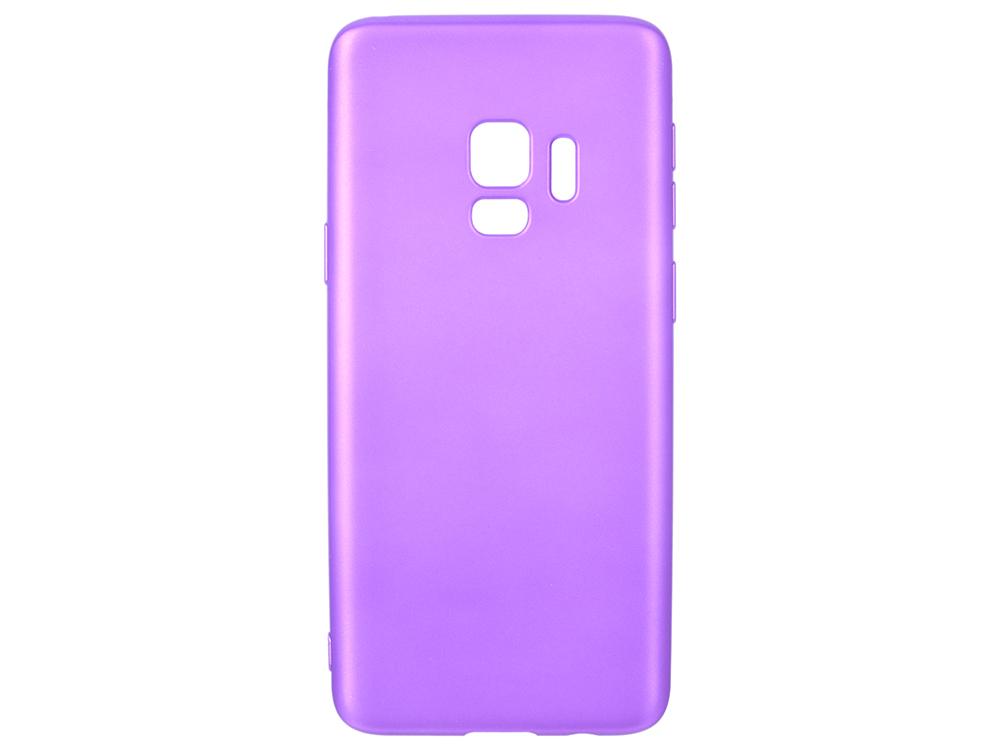 цены Чехол Deppa Case Silk для Samsung Galaxy S9, фиолетовый металлик