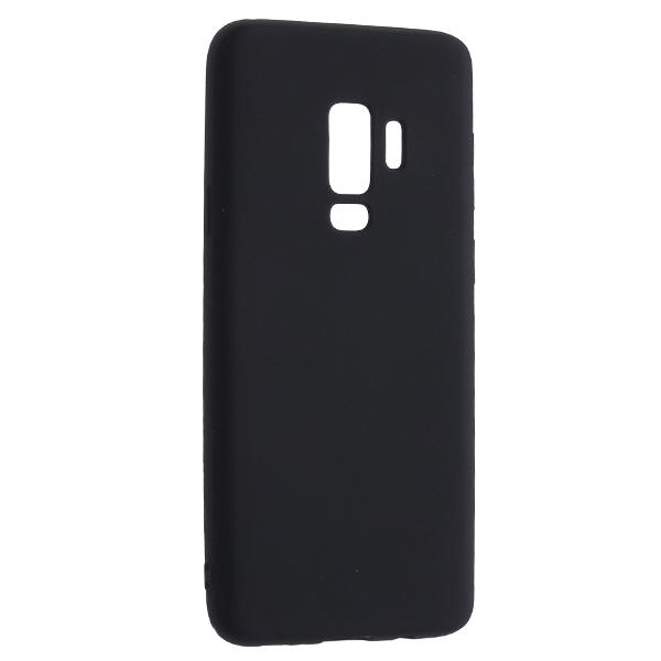 Чехол Deppa Case Silk для Samsung Galaxy S9, черный металлик