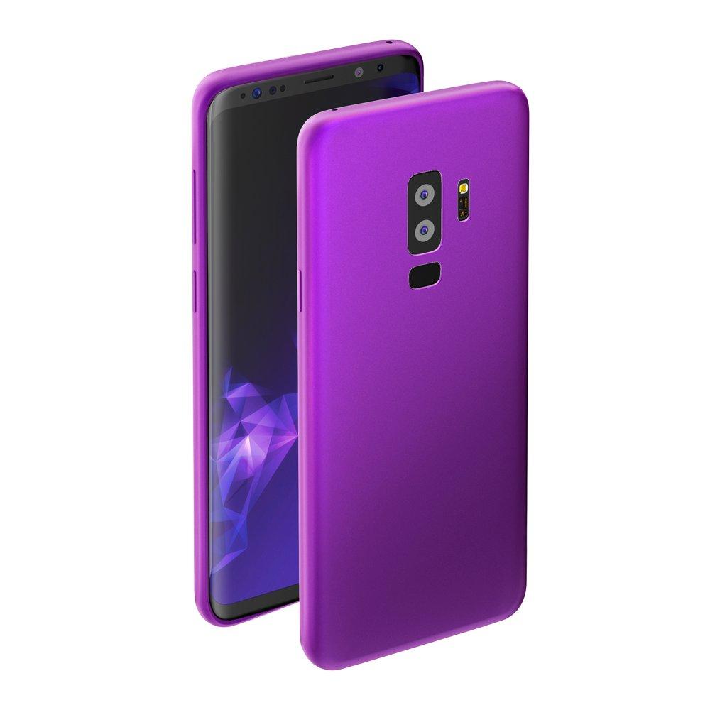 Чехол Deppa Case Silk для Samsung Galaxy S9+, фиолетовый металлик