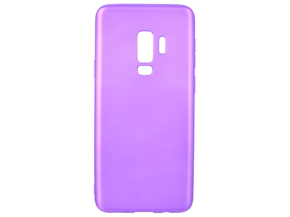 Чехол Deppa Case Silk для Samsung Galaxy S9+, фиолетовый металлик deppa fifa москва чехол для samsung galaxy j3 2017 blue