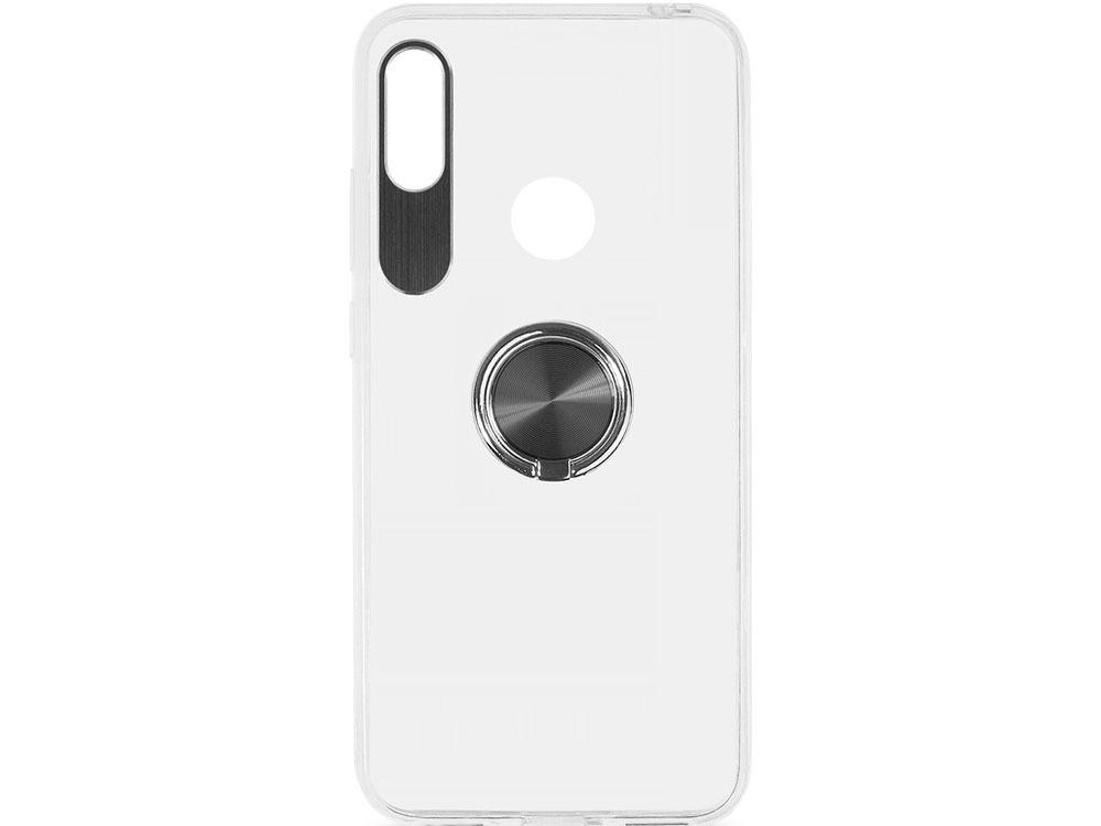 Чехол с кольцом-держателем для Huawei Honor 8A/Y6 (2019) DF hwTRing-01 (black) чехол с кольцом держателем для huawei honor 8a df hwring 02 black
