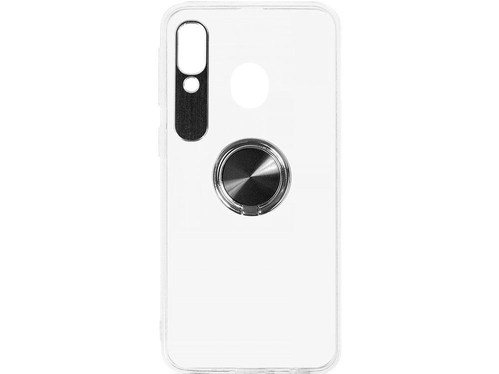 цена на Чехол с кольцом-держателем для Samsung Galaxy A40 DF sTRing-03 (black)