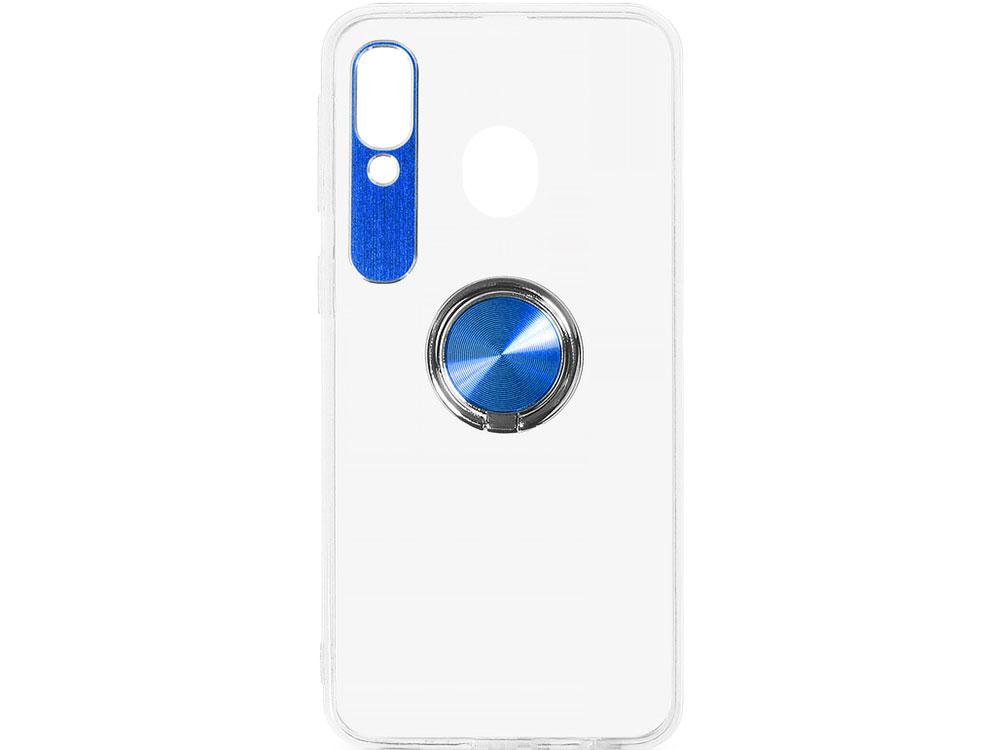 Чехол с кольцом-держателем для Samsung Galaxy A40 DF sTRing-03 (blue) аксессуар чехол df для samsung galaxy a10s soriginal 04 blue