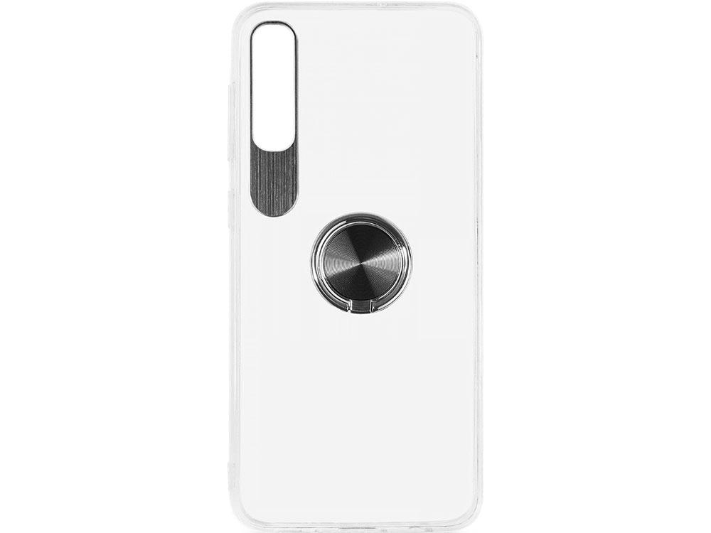 Фото - Чехол с кольцом-держателем для Samsung Galaxy A50 DF sTRing-04 (black) чехол