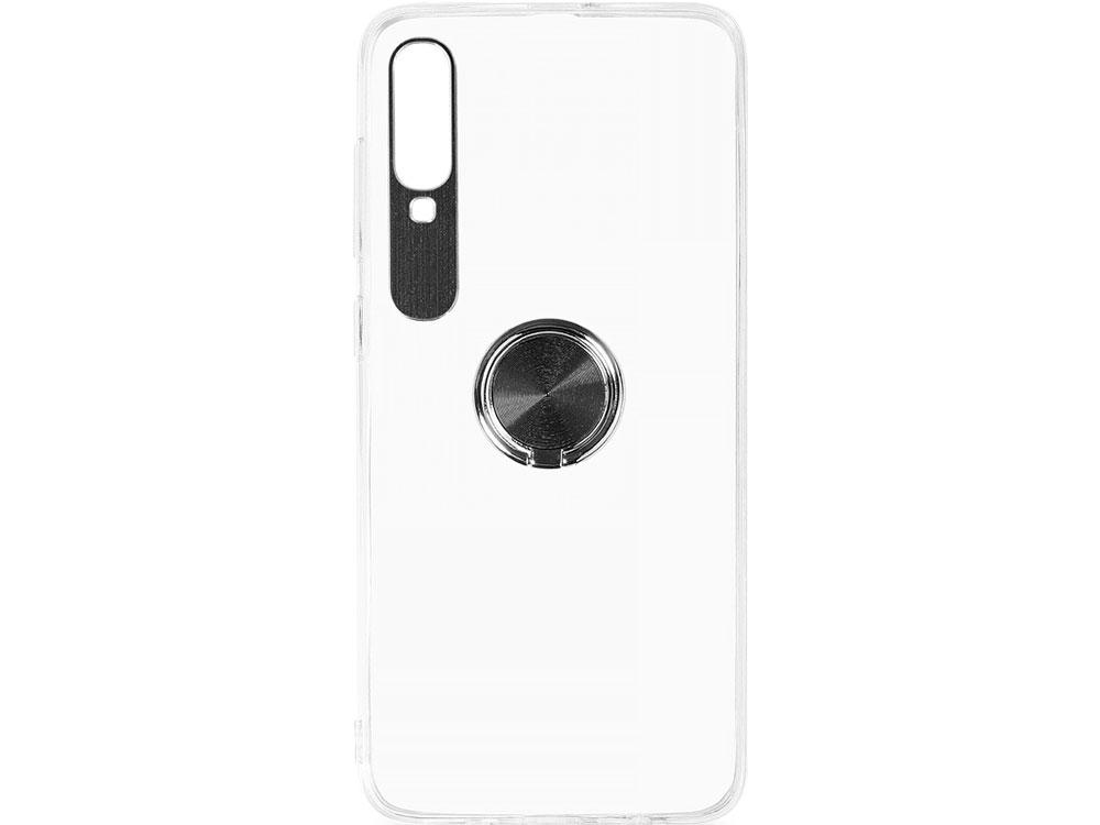 Фото - Чехол с кольцом-держателем для Samsung Galaxy A70 DF sTRing-05 (black) чехол