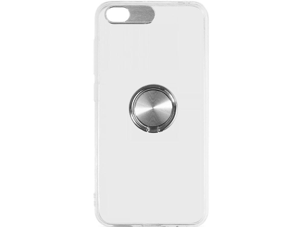 цена на Чехол с кольцом-держателем для Xiaomi Redmi Go DF xiTRing-02 (silver)