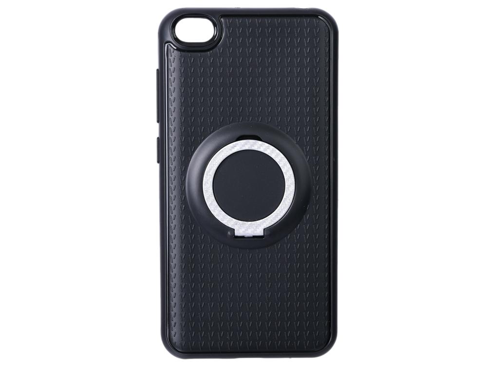 Фото - Чехол с кольцом-держателем для Xiaomi Redmi Go DF xiBlackRing-01 (black) чехол