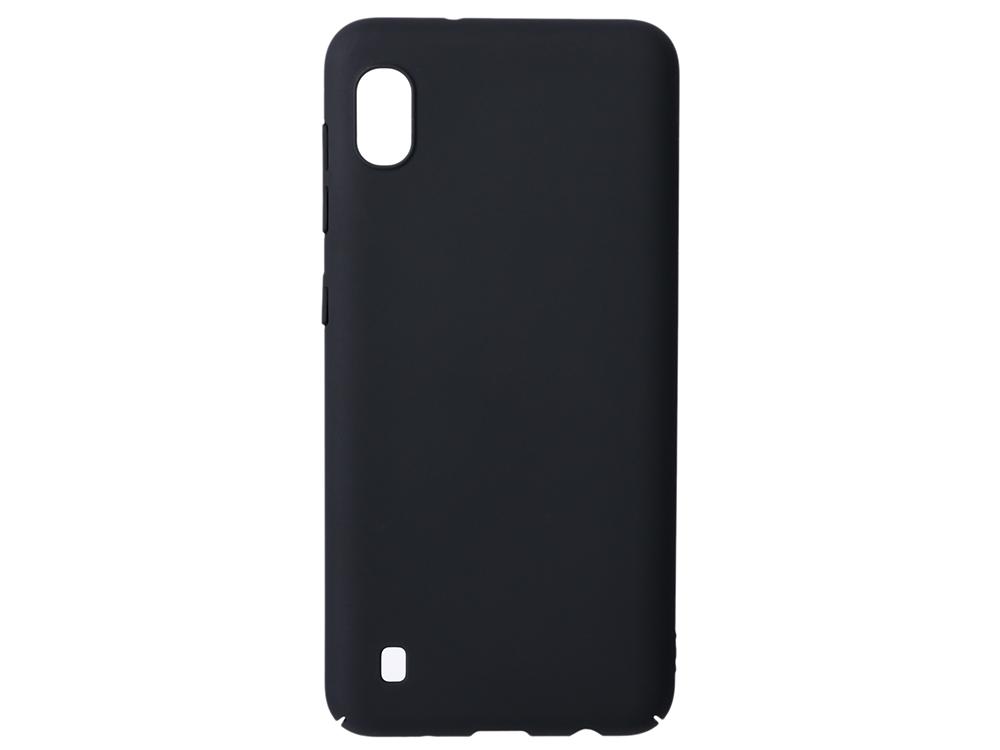 Чехол soft-touch для Samsung Galaxy A10 DF sSlim-35 аксессуар чехол для samsung galaxy j8 2018 gurdini soft touch silicone black 907522