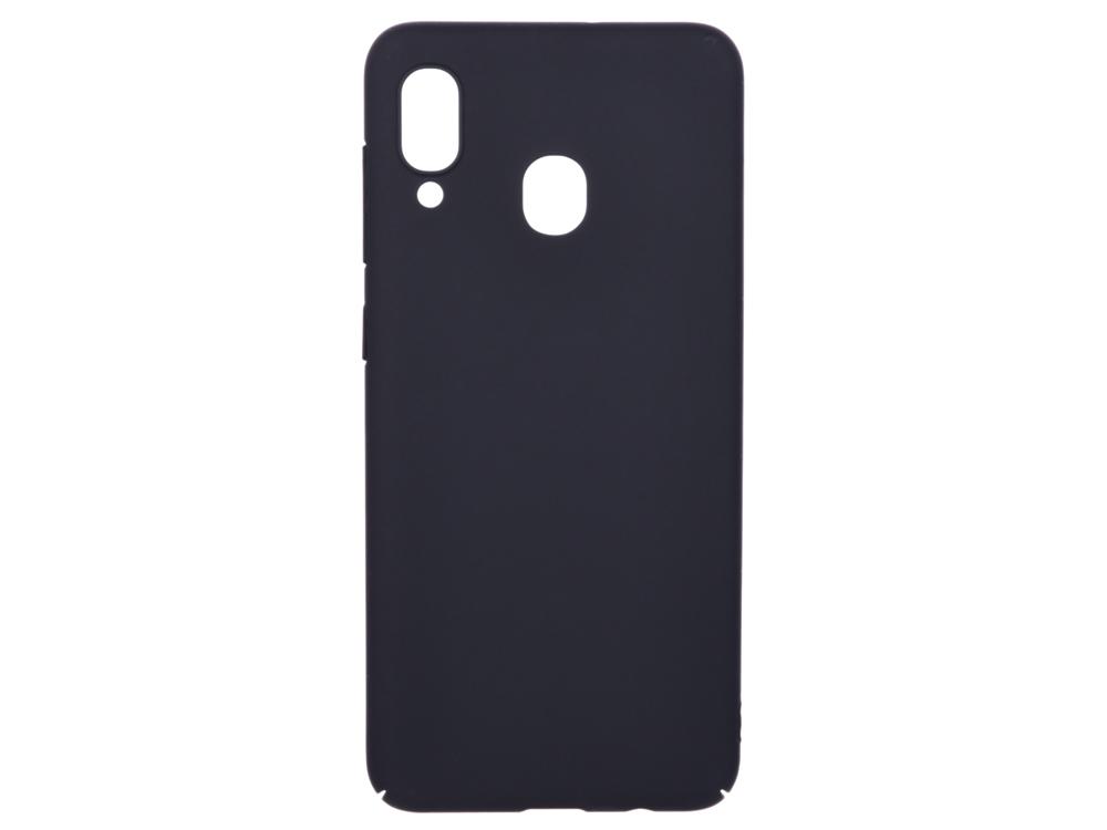 Чехол soft-touch для Samsung Galaxy A20/A30 DF sSlim-38 аксессуар чехол для samsung galaxy j8 2018 gurdini soft touch silicone black 907522