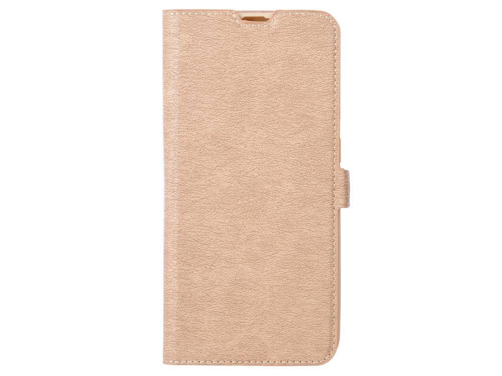 Чехол с флипом для Samsung Galaxy A20/A30 DF sFlip-41 (gold) все цены