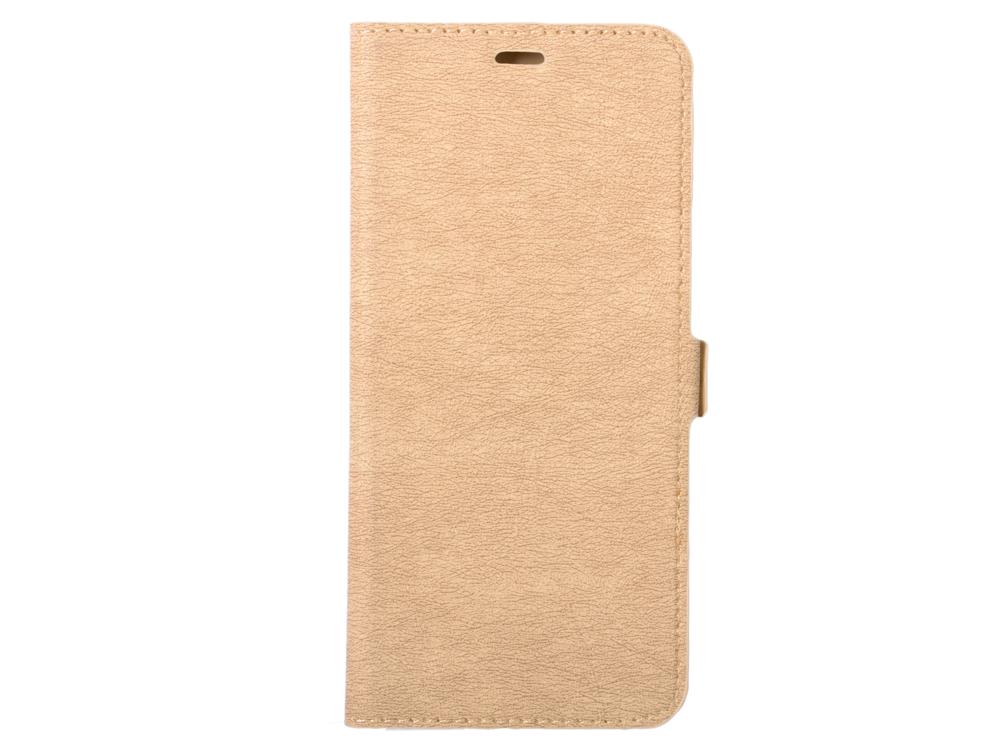 Чехол с флипом для Samsung Galaxy A70 DF sFlip-44 (gold) все цены
