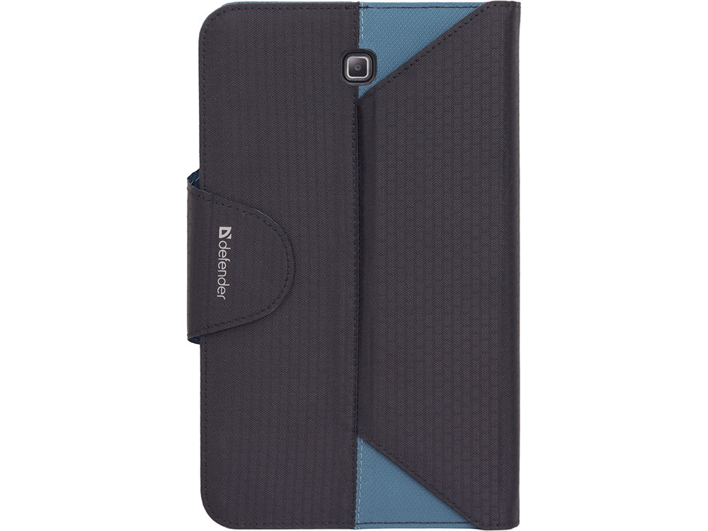 Чехол для планшета Samsung Galaxy Tab4 7 Черный/Синий Чехол-книжка, Текстиль чехол книжка rivacase 3014 для планшета 8 черный