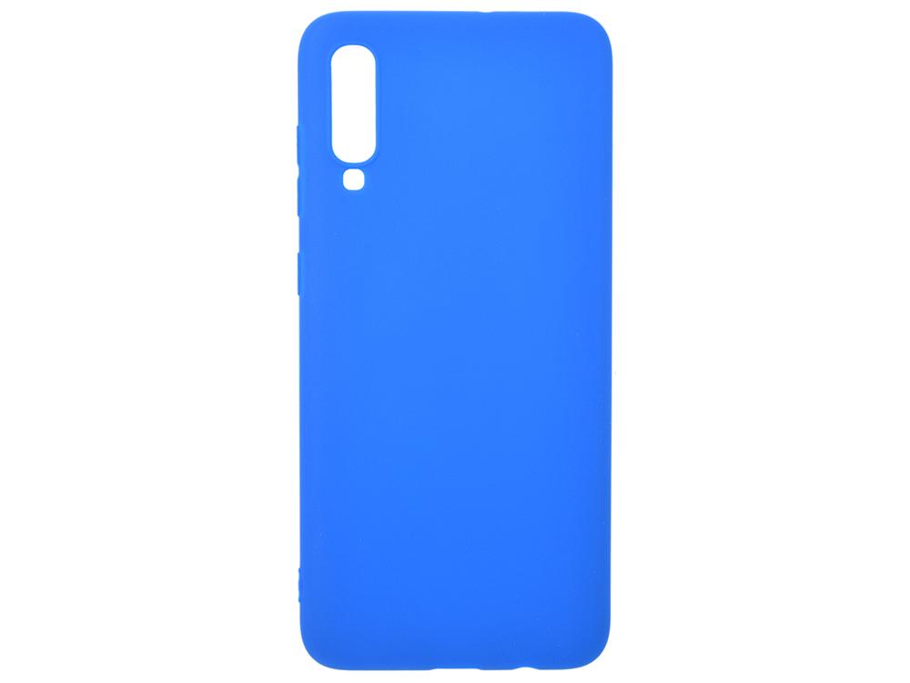 Чехол Deppa Gel Color Case для Samsung Galaxy A70 (2019), синий фото
