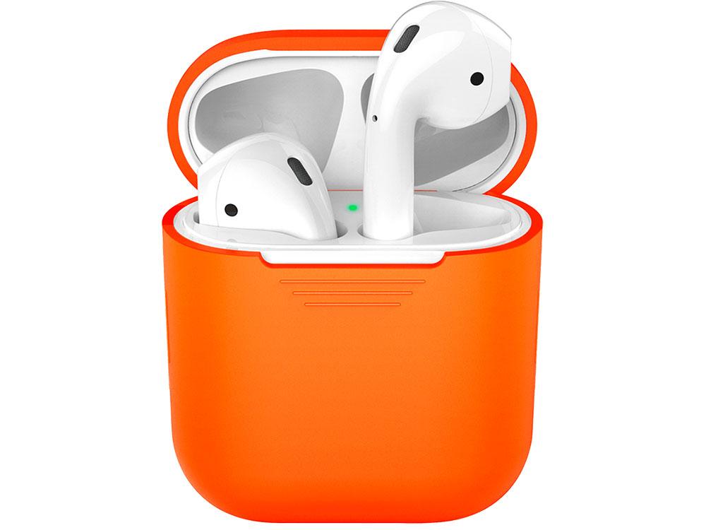 Силиконовый чехол Deppa для AirPods, оранжевый deppa deppa для lg k7