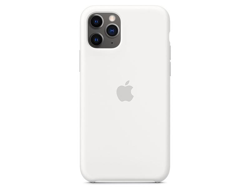 Чехол-накладка для iPhone 11 Pro Apple Silicone Case White клип-кейс, силикон цена 2017