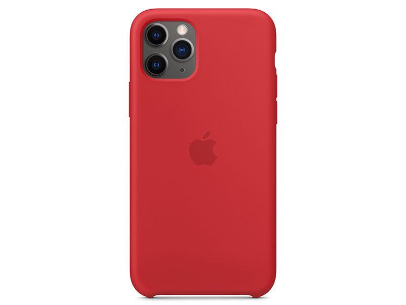Картинка для Чехол-накладка для iPhone 11 Pro Apple Silicone Case (PRODUCT)RED клип-кейс, силикон