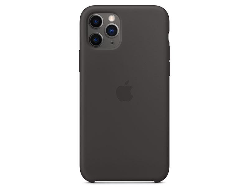 Картинка для Чехол-накладка для iPhone 11 Pro Apple Silicone Case Black клип-кейс, силикон