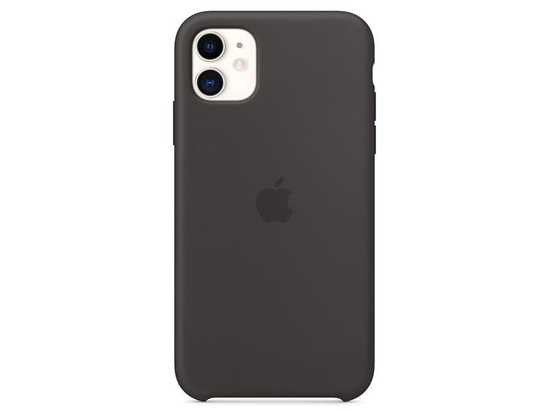 Чехол-накладка для iPhone 11 Pro Apple Silicone Case Black клип-кейс, силикон цена 2017