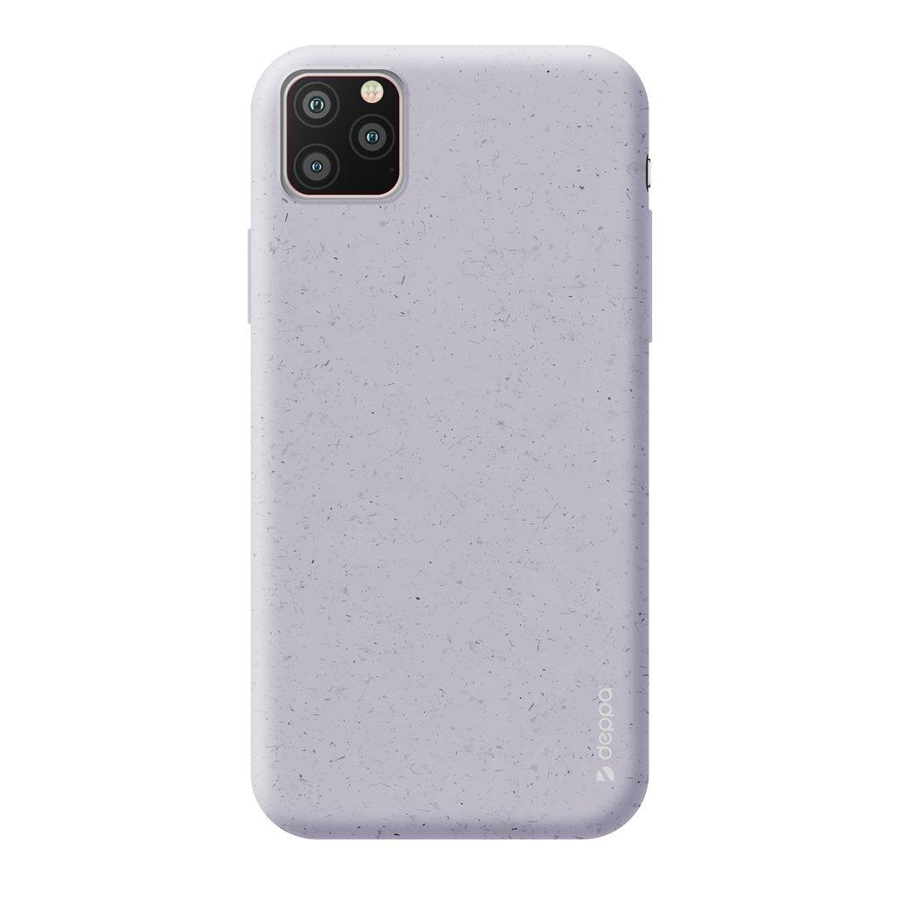 Чехол для смартфона для Apple iPhone 11 Pro Deppa Eco Case 87275 Violet клип-кейс, полиуретан фото