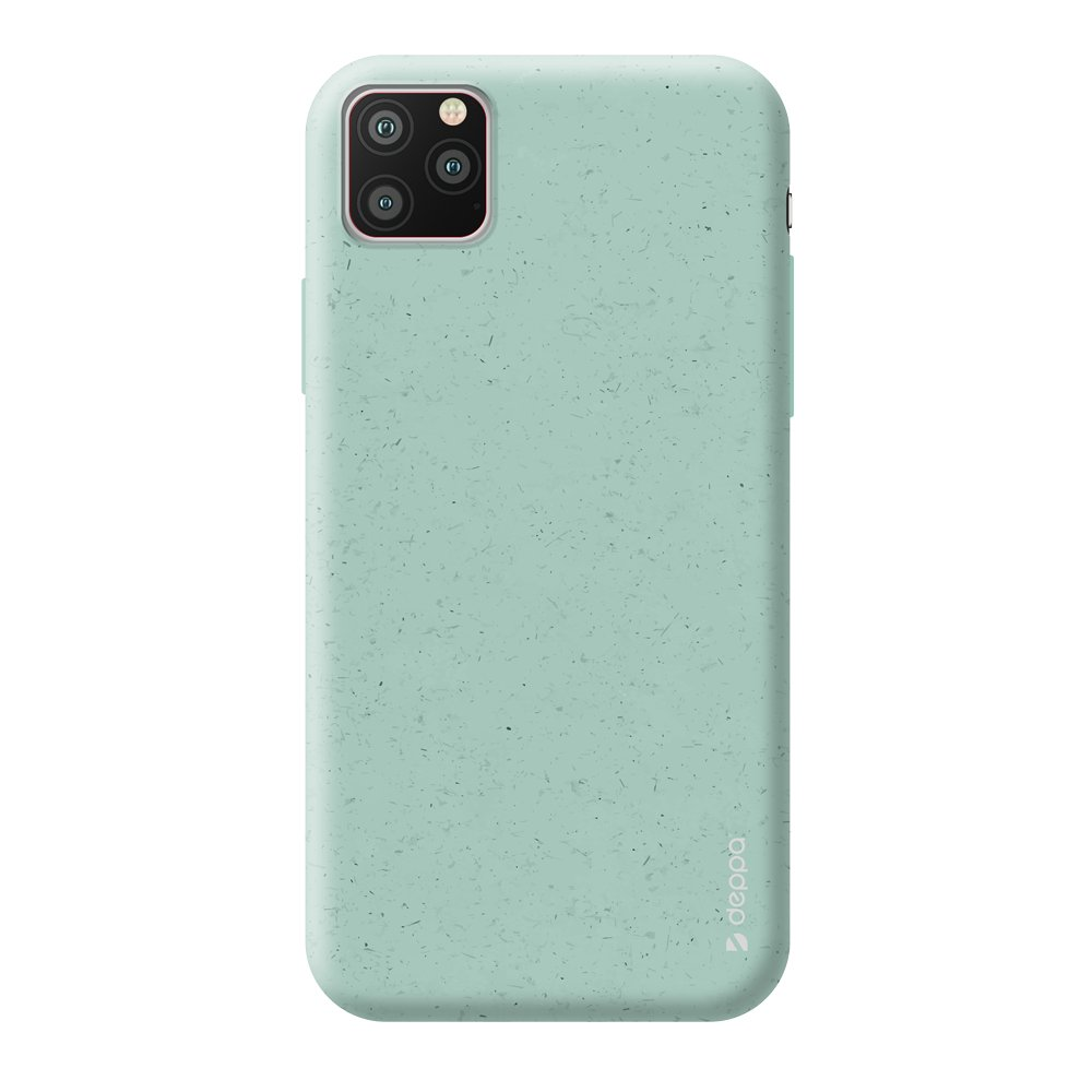 Чехол для смартфона для Apple iPhone 11 Pro Deppa Eco Case 87276 Green клип-кейс, полиуретан чехол клип кейс redline extreme для apple iphone x черный [ут000012388]