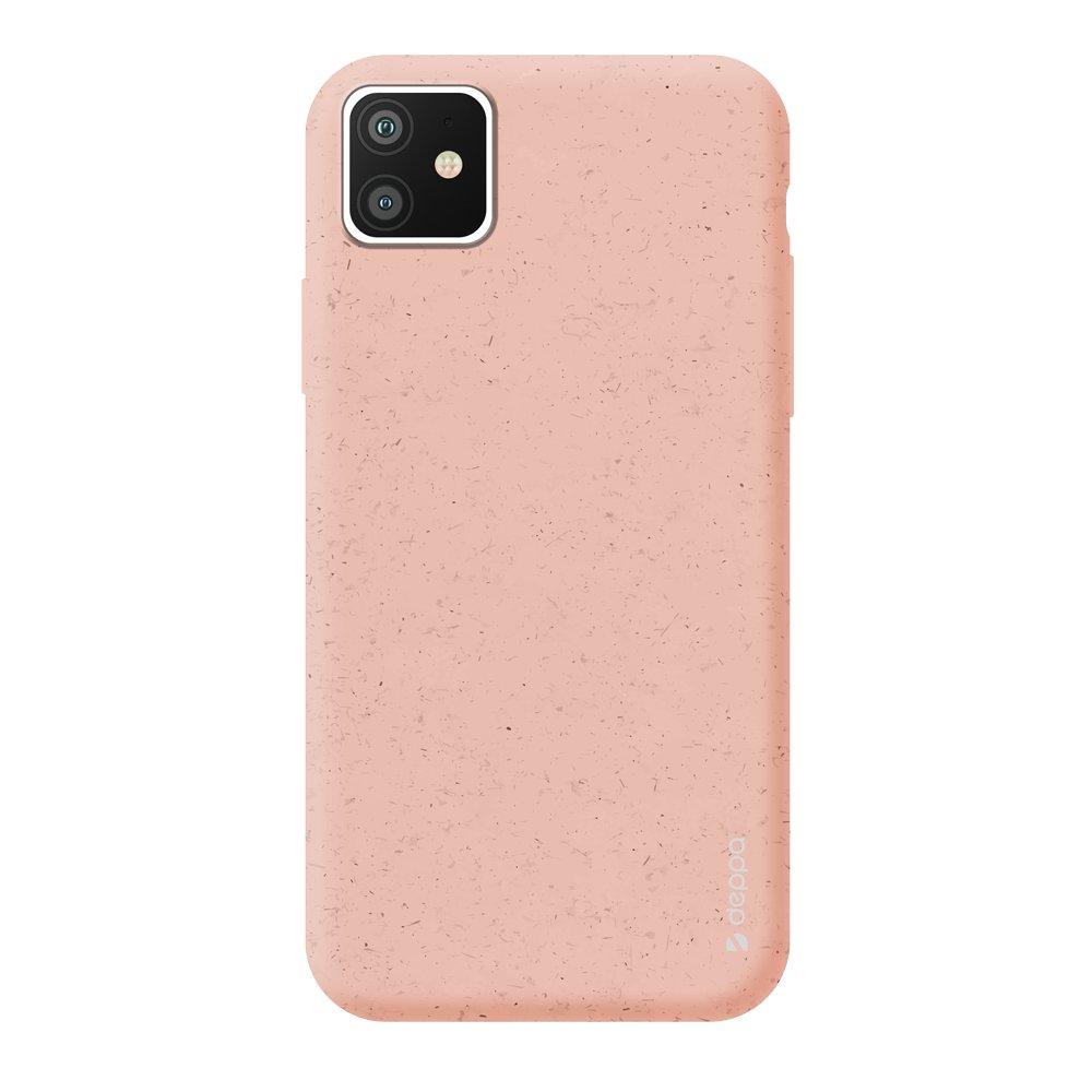 Чехол для смартфона для Apple iPhone 11 Deppa Eco Case 87279 Pink клип-кейс, полиуретан чехол клип кейс redline extreme для apple iphone x черный [ут000012388]