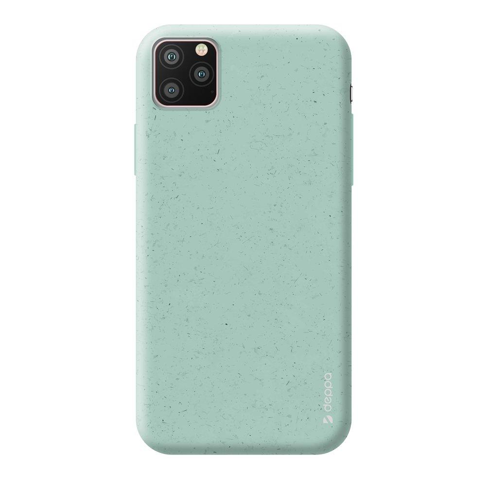 Чехол для смартфона для Apple iPhone 11 Pro Max Deppa Eco Case 87286 Green клип-кейс, полиуретан фото