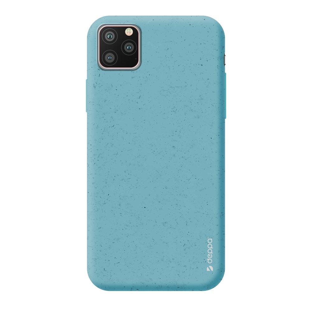 Чехол для смартфона для Apple iPhone 11 Pro Max Deppa Eco Case 87287 Blue клип-кейс, полиуретан чехол клип кейс redline extreme для apple iphone x черный [ут000012388]