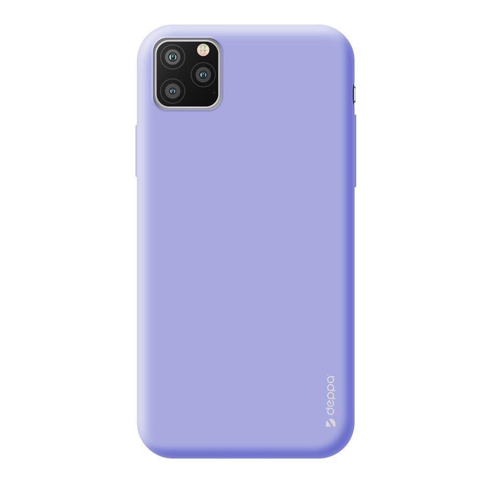 Чехол для смартфона для Apple iPhone 11 Pro Deppa Gel Color Case 87238 Violet клип-кейс, полиуретан чехол клип кейс redline extreme для apple iphone x черный [ут000012388]
