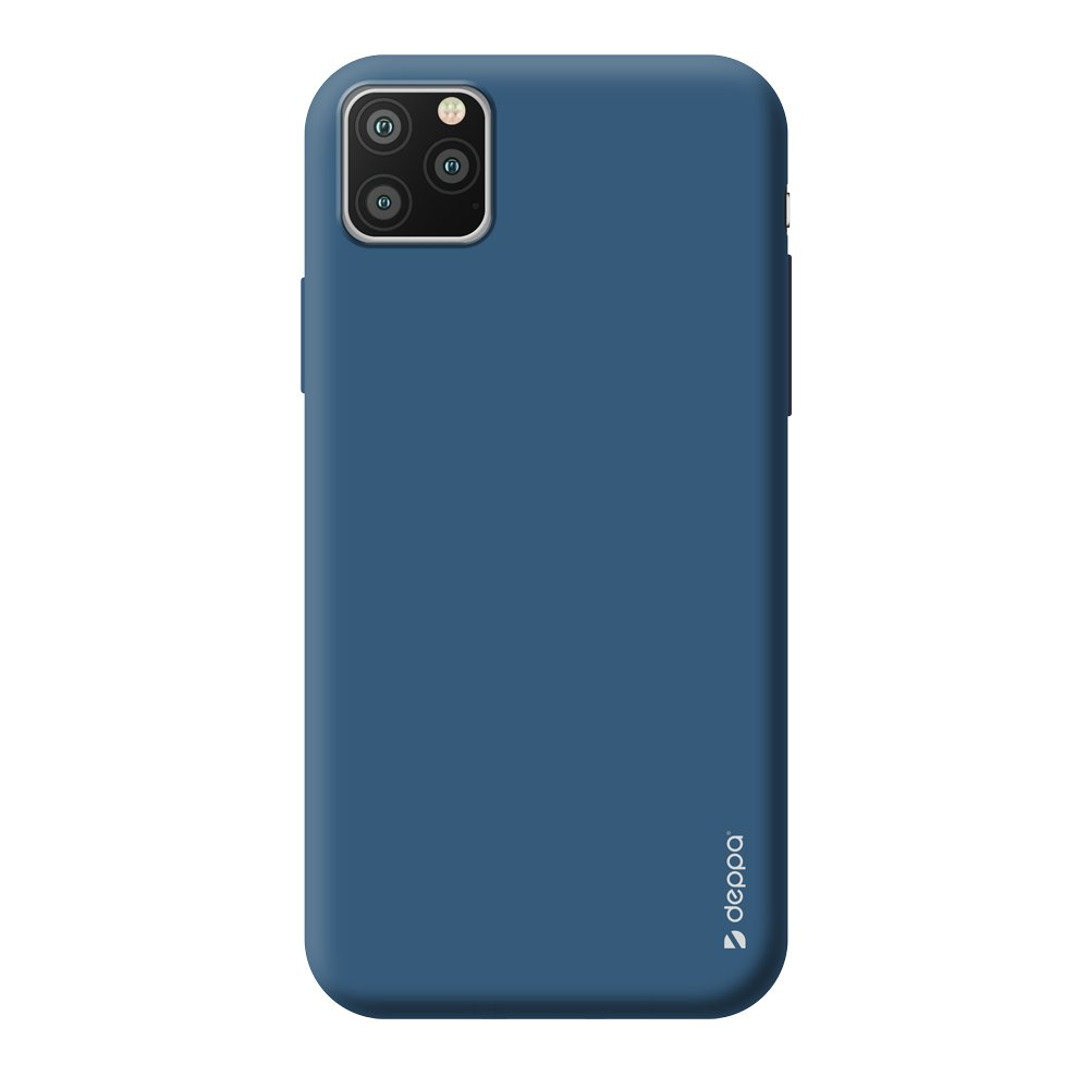 Чехол для смартфона для Apple iPhone 11 Pro Max Deppa Gel Color Case 87247 Blue клип-кейс, полиуретан фото