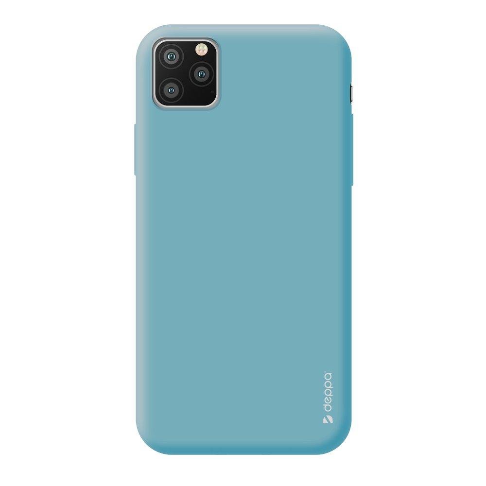 Чехол для смартфона для Apple iPhone 11 Pro Max Deppa Gel Color Case 87249 Mint клип-кейс, полиуретан чехол клип кейс redline extreme для apple iphone x черный [ут000012388]