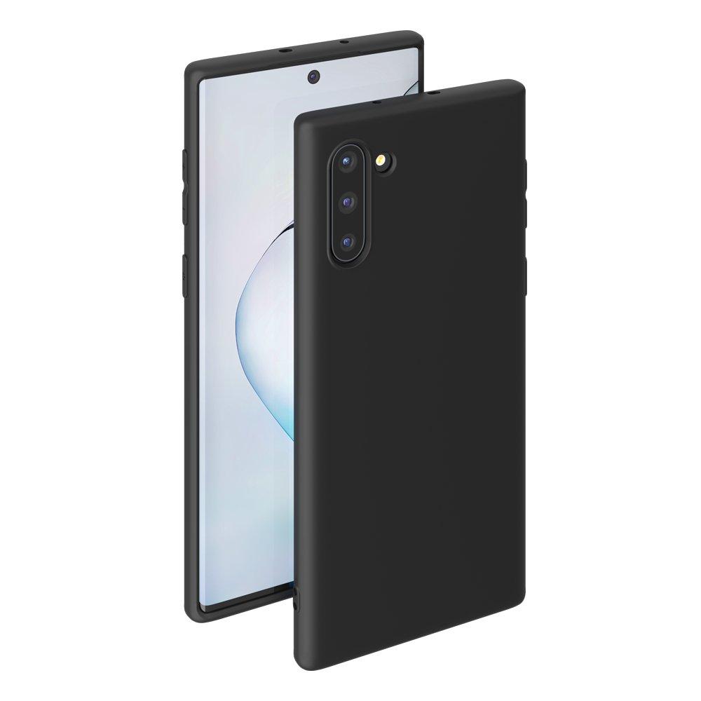 Чехол для смартфона для Samsung Galaxy Note 10 Deppa Gel Color Case 87330 Black клип-кейс, полиуретан фото