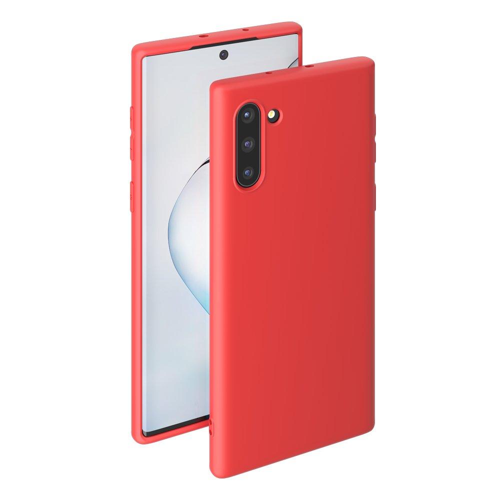 Чехол для смартфона для Samsung Galaxy Note 10 Deppa Gel Color Case 87334 Red клип-кейс, полиуретан клип кейс deppa samsung galaxy j4 plus tpu black