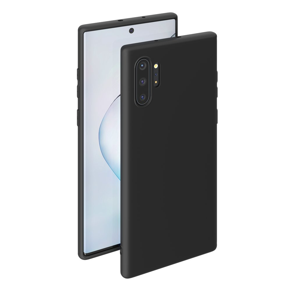 Чехол для смартфона для Samsung Galaxy Note 10 Plus Deppa Gel Color Case 87332 Black клип-кейс, полиуретан клип кейс deppa samsung galaxy j4 plus tpu black