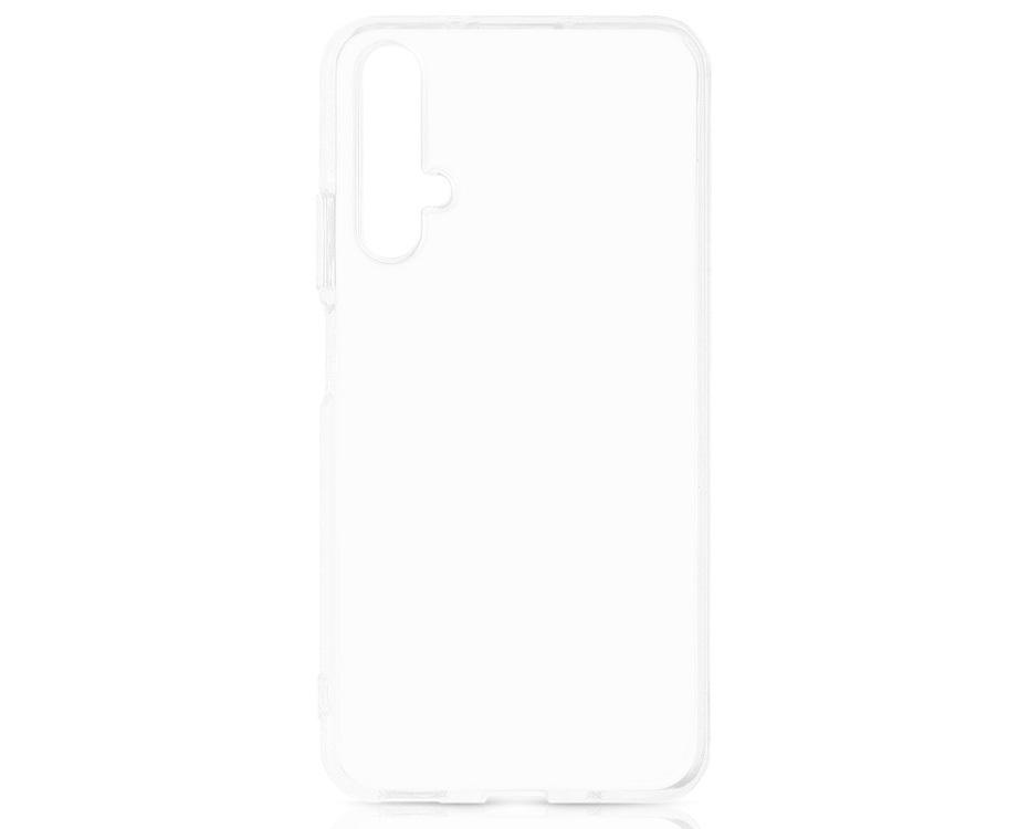 Чехол-накладка для Huawei Honor 20 / Nova 5T DF hwCase-82 Transparent клип-кейс, полиуретан цена и фото