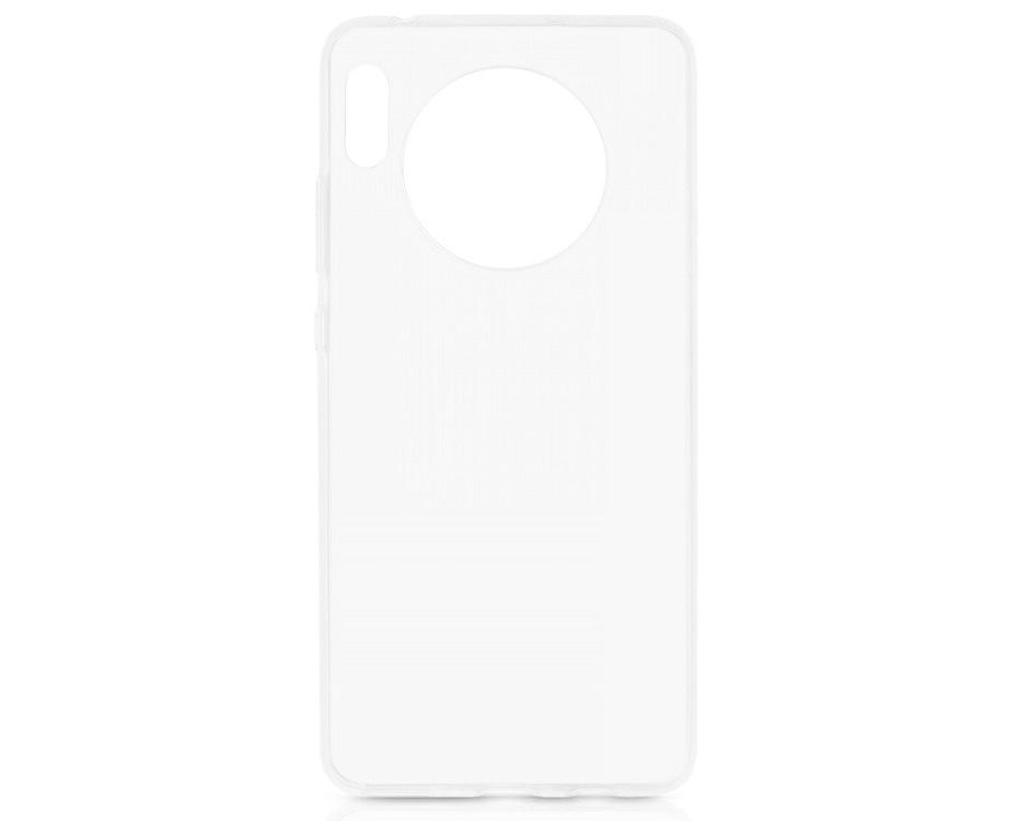 Чехол-накладка для Huawei Mate 30 DF hwCase-84 Transparent клип-кейс, полиуретан цена и фото