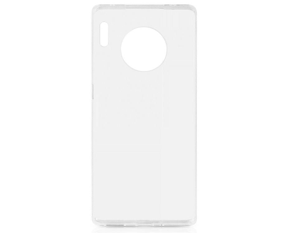 Чехол-накладка для Huawei Mate 30 Pro DF hwCase-85 Transparent клип-кейс, полиуретан чехол для мобильных телефонов floveme huawei 7 ascend for mate mate7
