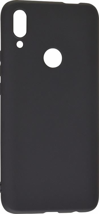 Чехол-накладка для Huawei P Smart Z/ Honor 9X DF hwColorCase-04 Black клип-кейс, силикон клип кейс tfn honor 8s black