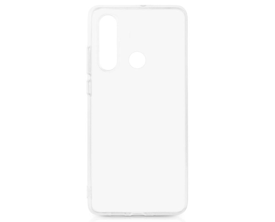 Чехол-накладка для Huawei P30 Lite/Honor 20S DF hwCase-75 Transparent клип-кейс, полиуретан силиконовый чехол для huawei honor 10 df hwcase 56