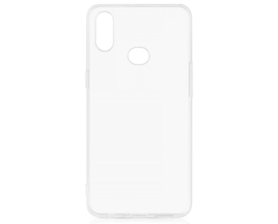 Чехол-накладка для Samsung Galaxy A10s DF sCase-83 Transparent клип-кейс, полиуретан