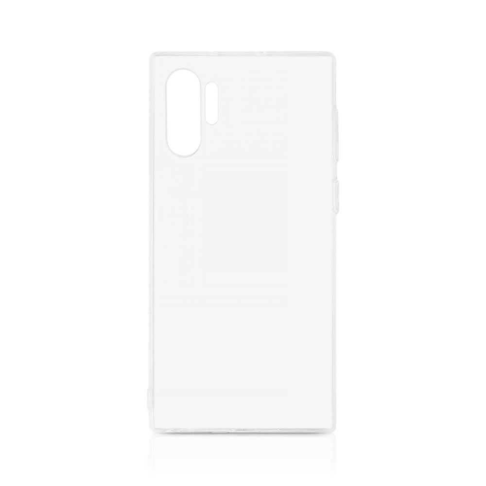 Чехол-накладка для Samsung Galaxy Note 10+ DF sCase-81 Transparent клип-кейс, полиуретан цена в Москве и Питере