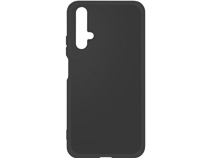 Чехол-накладка для Honor 20 DF hwOriginal-01 Black клип-кейс, силикон, микрофибра наматрасник силикон микрофибра 80х200 см