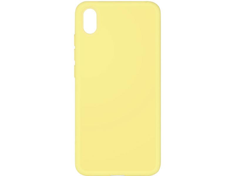 Чехол-накладка для Honor 8S/ Y5 (2019) DF hwOriginal-04 Yellow клип-кейс, силикон, микрофибра клип кейс tfn honor 8s black