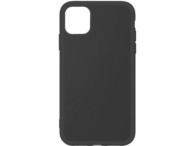 Чехол-накладка для Apple iPhone 11 Pro DF iOriginal-02 Black клип-кейс, силикон, микрофибра чехол накладка для iphone 6 plus 6s plus df icover 04 crocodile black клип кейс кожа