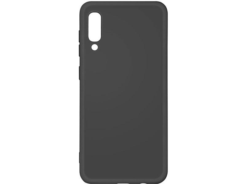 Чехол-накладка для Samsung Galaxy A30s/A50s/A50 DF sOriginal-03 Black клип-кейс, силикон, микрофибра клип кейс deppa samsung galaxy j4 plus tpu black