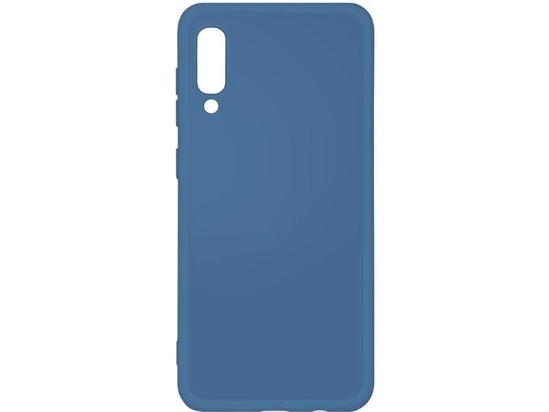 Чехол-накладка для Samsung Galaxy A30s/A50s/A50 DF sOriginal-03 Blue клип-кейс, силикон, микрофибра аксессуар чехол df для samsung galaxy a10s soriginal 04 blue